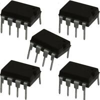 5x NE5532 P SA5532 Dual Low Noise Operational Op Amp/Amplifiers IC