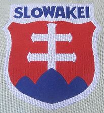 WWII GERMAN WAFFEN FOREIGN LEGION TUNIC SLEEVE SHIELD- SLOVAKIA