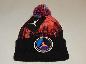 Nike Air Jordan Youth Jumpman Cuffed Beanie Stocking Hat Cap 9A1741-N31 Infrared