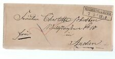 1865 GERMANY-Cover+Letter MÜLHEIM a.d.RUHR-AACHEN-BOXED CANCEL MÜLHEIM-N222