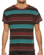 BNWT RVCA x Alex Knost Signature collection Television stripe T-shirt Medium