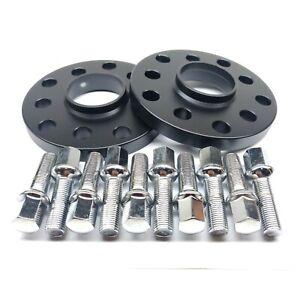 15mm Hub Centric Wheel Spacers 5x100 & 5x112 57.1 HUB For AUDI VW Volkswagen