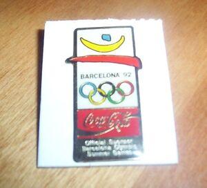 BARCELONA 1992 OLYMPICS Coca-Cola Summer Games Spain Coke Sponsor Game Pin NEW