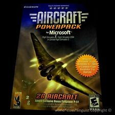 New! Aircraft PowerPack for Microsoft Flight Simulator X/ 2004/ Combat Sim 3