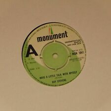 """RAY STEVENS 'HAVE A LITTLE TALK WITH MYSELF' UK 7"""" SINGLE"""