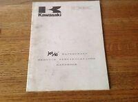 OEM Kawasaki 74-88 Jet Ski Watercraft Service Specification Manual 99926-1013-01