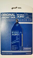 Aviationtag Belgian Air Force A310 Pure Blue