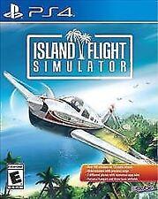 Island Flight Simulator (Sony PlayStation 4) PS4 new sealed video game