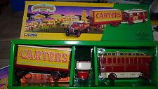 Corgi 16501 cirque Carter tracteur + 2 remorques