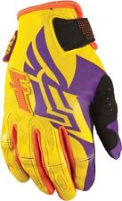 FLY Kinetic Inversion Womens ATV Off Road Motocross Gloves-Yellow-2X(10)