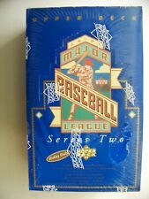 1993 Upper Deck Series 2 Baseball factory sealed wax box 36pk Derek Jeter Rookie