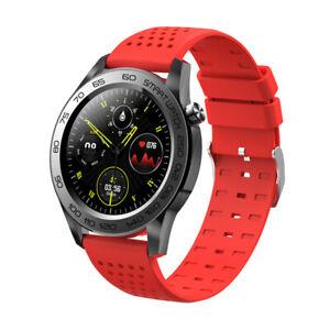 Damen Frauen Smartwatch Wasserdicht Sportuhr Pulsuhr Handy Fitness Tracker IP67