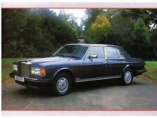 Bentley Mulsanne Specification 1987-88 UK Market Leaflet Brochure