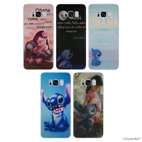 Lilo and Stitch Coque/Etui/Case pour Samsung Galaxy S6/S7/Edge/S8/Plus / Gel/Tpu