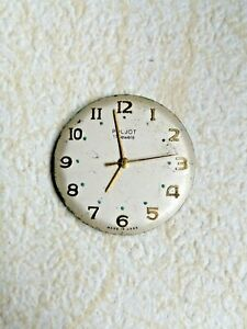 "POLJOT Watch Movement ""2609"" Caliber 17 Jeewels ""1 MCHZ"" USSR Vintage.#492"