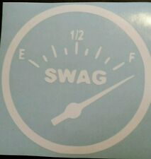 Vinyl Decal Sticker..SWAG.FULL. VolkSWAGen  .JDM Funny Car Truck Window Laptop