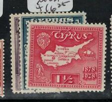 Cyprus SG 123-5 MOG (2ebj)