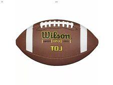 WILSON WTF1713  TDJ JUNIOR SIZE COMPOSITE FOOTBALL