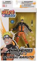 """*NEW* Bandai Anime Heroes Naruto Shippuden UZUMAKI NARUTO 6"""" inch Action Figure"""