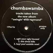 """CHUMBAWAMBA - Tracks Taken From The New Album """"Swingin' With Raymond"""" EP (12"""")"""