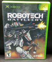 Robotech Battlecry  - Microsoft Xbox OG Rare Game Complete Working Tested