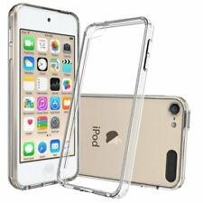 For iPod Touch 6 6th Gen Case Clear Silicone Slim Gel Cover & Stylus Pen
