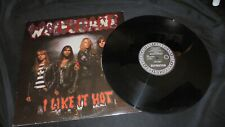 "Wolfsbane ‎– I Like It Hot DEF AMERICAN USA press 1989 VG+/VG+ 12"" mini LP vinyl"