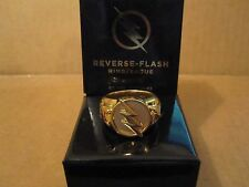 DC Collectibles TV Show The Flash: Reverse-Flash Ring   OFFICIAL with Box