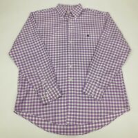 Brooks Brothers 346 Men's Size L Large Button Down Shirt Long Sleeve Check Plaid