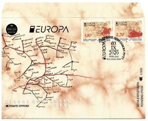 Bosnia-Republic of Srpska Europa CEPT 2020 FDC