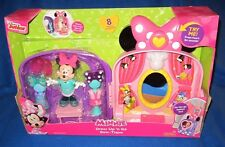 Fisher Price Disney Minnie Mouse Dress Up N Go Bow-tique Play Set CKL96 **NEW**