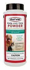 Durvet Flea & Tick Powder Kills Insect on Contact Bedbug Dust Mites 8oz Usa