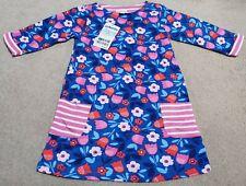 Jojo Maman Bebe Girls Floral A line Dress 3-4 Years BNWT