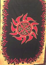 Tapestry Wall Hanging CELTIC FIRE100% Fair Trade