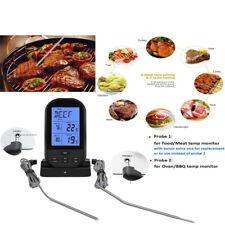 Termometro da cucina digitale wireless per carne con display LCD a sonda