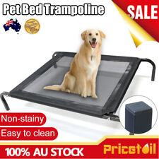 Large Dog Puppy Cat Pet Bed Trampoline Heavy Duty Frame Hammock Canvas  XL