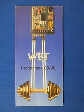 WBT CRIMP SET PLUG SOCKET TERMINAL CABLE SALES BROCHURE FACTORY ORIGINAL ISSUE