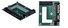 """Mini PCIe SSD mSATA a 2.5"""" SATA 6.0 Convertitore Adattatore GPS Scheda Modulo Board"""