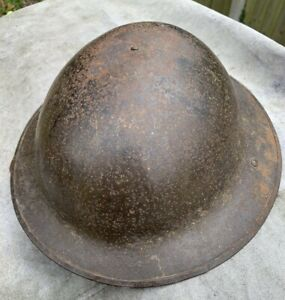 WW1 British Brodie Steel Helmet - Miris Steel Sheffield - Liner and Chin Strap
