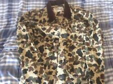 BELLFIELD camouflage canvas jacket - size Large