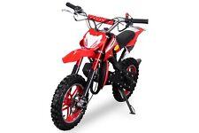 """Mini moto cross 50cc pitbike enduro minimoto ruote 10"""" scarico sportivo miscela"""