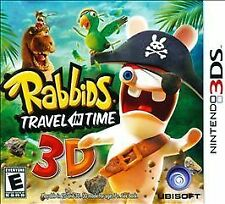 Rabbids: Travel in Time 3D (Nintendo 3DS, 2011) new