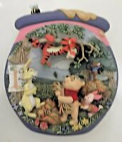 """Bradford Exch Winnie the Pooh's Hunnypot Adventures """"Tigger's Tangle"""" 3D Plate"""