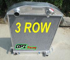 3ROW Aluminum Radiator 1932 32 FORD HI-BOY Grill Shells CHEVY ENGINE