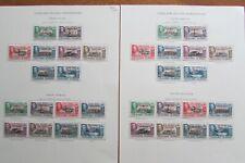 Falkland Islands Dependencies – Complete KGVI Mint Stamp Sets (1944)