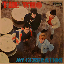 """THE WHO - MY GENERATION 12"""" 2 LP (M366)"""