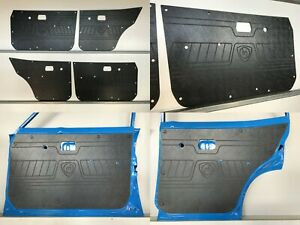 Black ABS MAZDA RX3 Rotary 808, 818 Sedan & Wagon 10A 12A. Rugged Door Panels