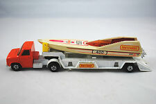 Matchbox K-27 FORD A Series Artic.Truck with SPEEDBOAT & Trailer Made in England