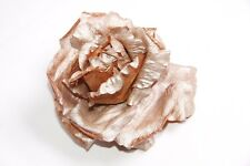 Stunning Clothing Accessory Rose Shape Brooch with Safety Pin and Clip (S282)