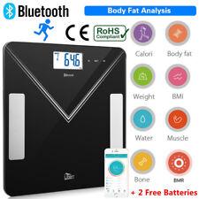 Balance Pèse Personne de Graisse Corporelle Connectée Bluetooth iOS Android